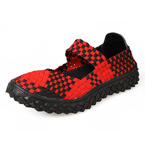 Paris Hill Lightweight Slip On Flat Shoes Breathable Woven Boating Shoes Test