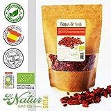 Bayas de Goji Bio BeNatur Plus – 100% Bayas de Goji de cultivo Ecológico de Pureza Garantizada Libre de Pesticidas y de cualquier tipo de productos Químicos 250 g