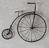 Tqbzs Kreative industrielle Art-Restaurant-Wand-hängende Wand-Fahrrad-Verzierungs-Anhänger-Stangen-Wand-Dekorations-Verzierungen (größe : 38 * 5.5 * 33cm)