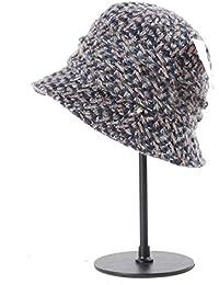 Categoría sombreros de mujer, la nueva colección otoño-invierno sombrero de lana, gris KEEP WARM