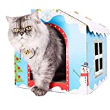 CHW Pet Accessories Corrugated Paper House Cat Kitten DIY Scratching Board Pad Claw Care Pet Toy - 1#,2#