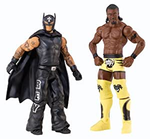 WWE Battle Pack Rey Mysterio vs. Kofi Kingston Action Figure, 2-Pack