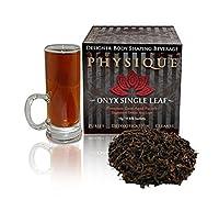 Premium Pu-erh Tea Cave-Aged 10+ yrs, Onyx Pu Erh by Physique Tea, 15 Multi-Use Sachets