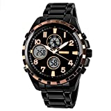 Men's Outdoor Sports Men's Double Men's Watch Orologio da uomo sportivo multifunzionale da uomo,A