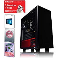 ADMI GTX 1070 GAMING PC: High-End VR Ready Gaming Desktop Computer: Intel Core i5 6400 Skylake Quad Core 3.3GHz Turbo CPU / NVIDIA GeForce GTX 1070 8GB GDDR5 4K VR Ready Graphics Card / 16GB 2133MHz DDR4 RAM / 1TB Hard Drive / 600W PSU Bronze Rated / HD Audio / USB 3.0 / HDMI/4K Ultra HD Support / VR / Oculus Support / NZXT Source 340 Gaming Case Black / Pre-Installed with Windows 10