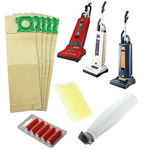 Spares2go Vacuum Cleaner Service Kit For Sebo X Series Vacuum Cleaners (Includes 5 Bags, 2 x Filters &