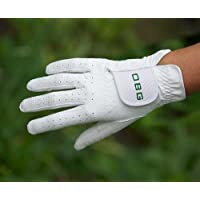 """OBG """"ALL WEATHER"""" WHITE SYNTHETIC BOWLS GLOVE - LADIES (Medium, Right)"""