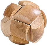 Playtastic Holz Rätsel: Geduldspiel Fußball aus Holz (Logikspiele)