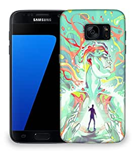 Snoogg Find Yourself Designer Protective Back Case Cover For Samsung Galaxy S7