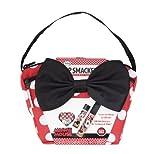 Lip Smacker Koffer-Set mit 1 Lippenbalsam und 2 Stück Lipgloss, Motiv: Disney Minnie Maus