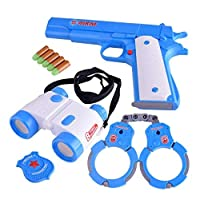 Dress Up Police Officer Deputy Role Play Kit For Kids