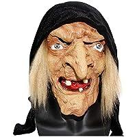 Circlefly Bruja de Monja de Horror de Halloween Máscara de látex Peluca Fiesta Masquerade máscara Femenina