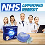 ANTI SNORE DEVICES Presents The Snore NO More PRO. Professional Snoring Relief NHS Approved Remedy. The Best Selling Snore Stopper Now Available in The UK. Anti Snoring Mouthpiece & Nasal Dilators