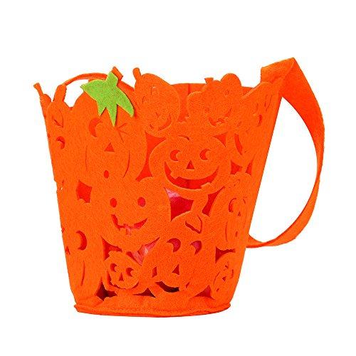 Brydon Halloween Geschenk Tüte Korb Teufel Tasche Kids Candy Handtasche Bucket (Candy Kostüme Cute)