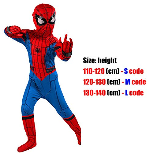 @Y.T Spiderman Kostüm Alliance Expedition Cosplay Kostüm Kinder Halloween Kostüme,U,S