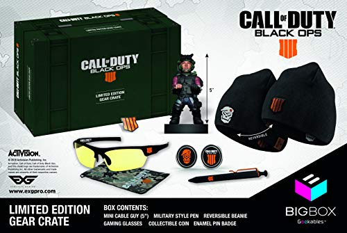 Call of Duty Black Ops IV Big Box Collectible's Bundle (Beanie Call Of Duty)