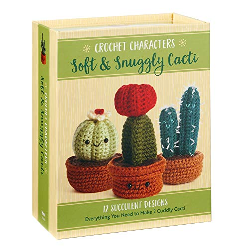 Crochet Characters Soft Snuggly Cacti