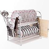 Porte-vaisselle/Acier inoxydable des cerveaux/Porte-vaisselle/Étagères de cuisine-E