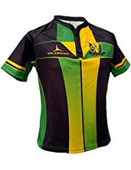 Olorun Saint Sinners Sublimated Rugby Camisa S-7X L, negro