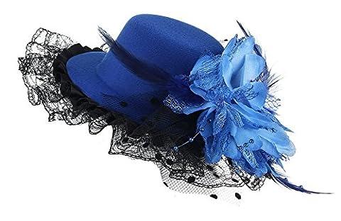 Ruban Pour Chapeau - GEMVIE Pince à Cheveux Chapeau Mini Bibi