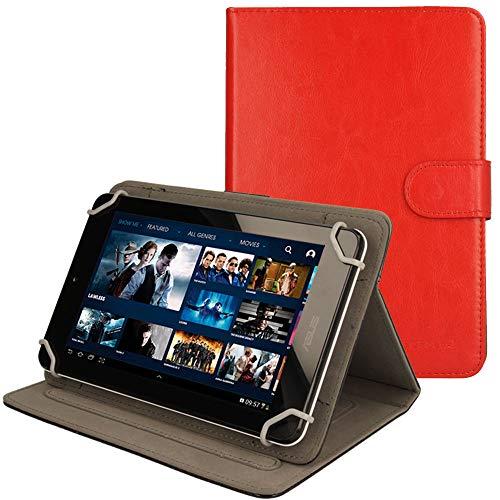 TECHGEAR CASE-UNI.8 Tablet-Schutzhülle, Lenovo A8, rot - rot