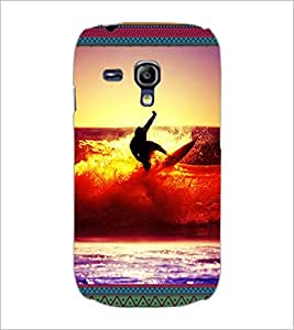PrintDhaba Diving D-3078 Back Case Cover for SAMSUNG GALAXY S3 MINI (Multi-Coloured)