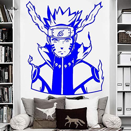 guijiumai Vinyl Wandaufkleber Ubiquita (Bijuu Mode) Oberfläche Aufkleber Home Wohnzimmer Schlafzimmer Dekoration, Anime Fans, D 7 57x69cm