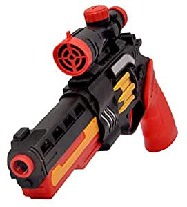 Toyshine Dual Mode Water Jelly Shots and Foam Darts Gun Toy, 40 Feet Range, Free 300 Water Jelly Shots