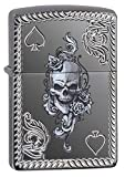 Best BIC Lighter Fluids - Zippo Unisex Spade and Skull Design Windproof Lighter Review