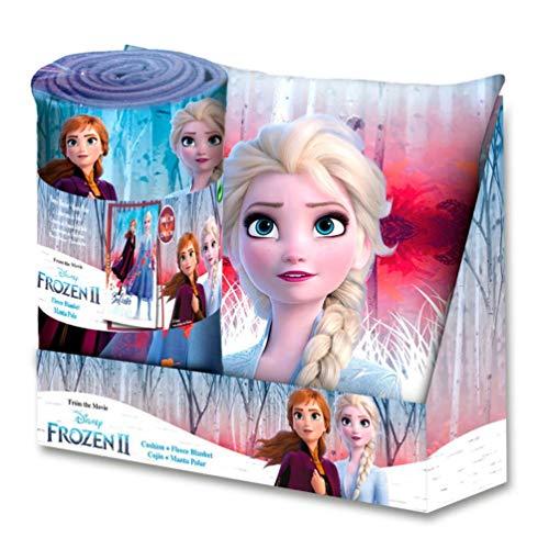 Frozen Set cojin + Manta Display 2 Referencia KD Textiles
