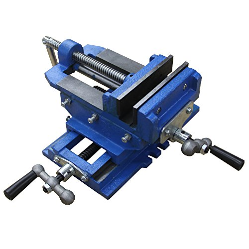 Hardware Factory Store 2 Way 4-Inch Drill Press X-Y Compound Vise Cross Slide Mill by Hardware Factory Store (Vise Slide Press Drill Cross)
