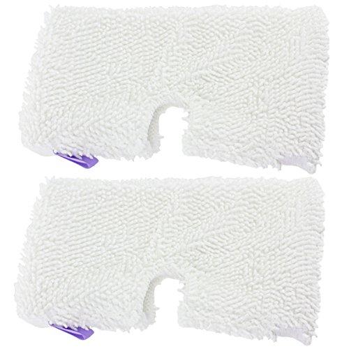 zug Mikrofaser Pocket Pads für Shark S2901S3000SM200S502xt3101Serie Dampfreiniger Mop (2Stück) ()