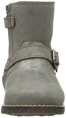 CliC Stiefelette, Bottes et bottines à doublure chaude fille Gris - Grau (Espacio Gris)