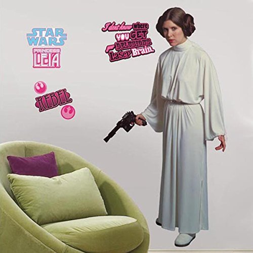 RoomMates ``Princess Leia`` Giant Wall Sticker