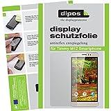 dipos Timmy M12 Smartphone Schutzfolie (6 Stück) - Antireflex Premium Folie matt