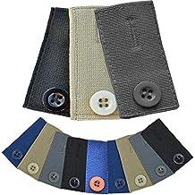 Medipaq® Lot de 3 boutons rallonges pour jupe, pantalon ou jeans Fixation à  la 3eafd3556720
