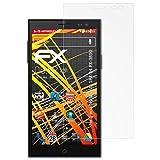 atFolix Schutzfolie kompatibel mit Simvalley-Mobile SPX-34 PX-3890 Bildschirmschutzfolie, HD-Entspiegelung FX Folie (3X)