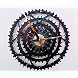 Fahrrad Uhr Portland, Wanduhr, Upcycling Design Rennrad Uhr