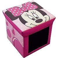 Preisvergleich für Unbekannt Fun House–712175–Einrichtung und Dekoration–Minnie–Hocker Aufbewahrungsbox Schiefer
