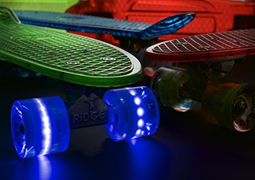 Ridge Skateboard Blaze Mini Cruiser , grün/blau, 55 cm -