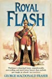 Front cover for the book Royal Flash by George MacDonald Fraser