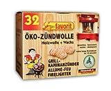 favorit 1228 Öko-Zündwolle, 32-er Schachtel