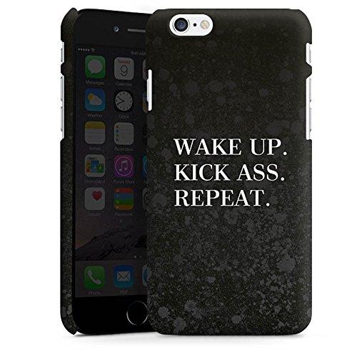 Apple iPhone X Silikon Hülle Case Schutzhülle Fitness Motivation Spruch Premium Case matt