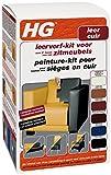 HG Peinture pour Cuir Kit Bleu Foncé 700 ml