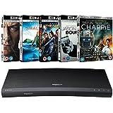 Samsung (UBD-K8500) 3D Wi-Fi 4K Ultra HD Blu-ray Player + 4K UHD 5 Movies Bundle Pack ( (Limited Edition Exclusive Hardware Bundle) [UHD]