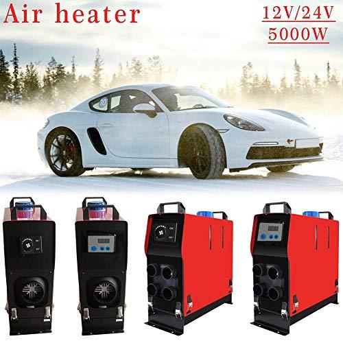 Preisvergleich Produktbild SinceY Auto-Heizung,  Kraftstoffwärmer für Auto,  12 / 24 V,  5000 W,  eingebaut / digital,  mit Loch