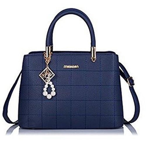 Wanghong, Borsa A Tracolla Da Donna Taglia Unica Blu Royal