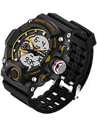 Sanda Fashion Men's Watch Waterproof LED Military Sports Watch Analog Digital Quartz-Watch Relogio Masculino -... - B07B9YZ6K2