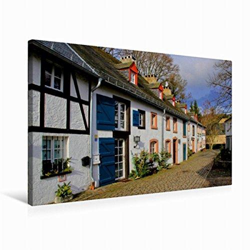 Preisvergleich Produktbild Premium Textil-Leinwand 75 cm x 50 cm quer, Kronenburg | Wandbild, Bild auf Keilrahmen, Fertigbild auf echter Leinwand, Leinwanddruck (CALVENDO Natur)