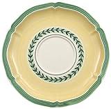 Villeroy & Boch French Garden Fleurence Untertasse, 17 cm, Premium Porzellan, Weiß/Bunt